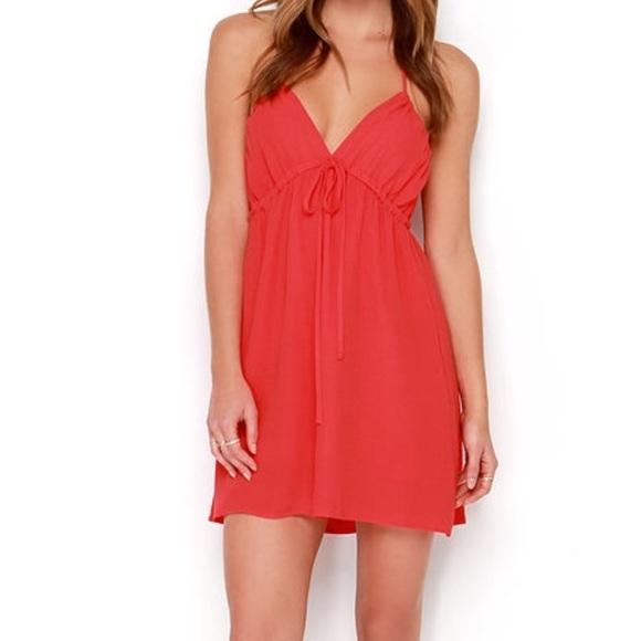 Lulu's Dresses & Skirts - Sangria Red Dress